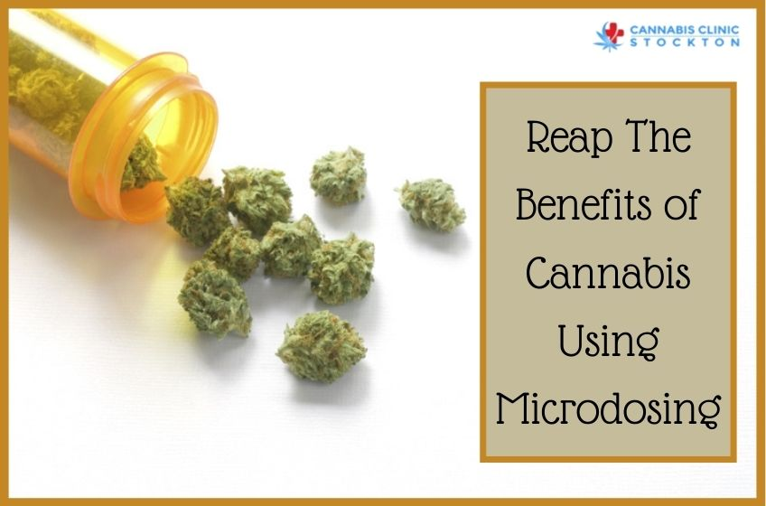 Cannabis Using Microdosing